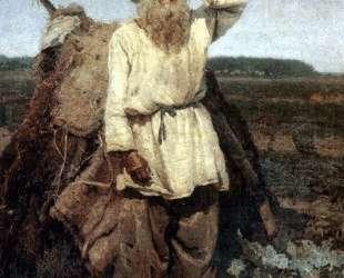 Старик-огородник — Василий Суриков