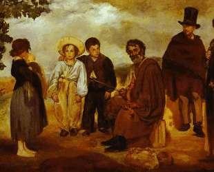 The old musician — Эдуард Мане