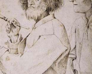 Автопортрет с заказчиком (Художник и знаток) — Питер Брейгель Старший