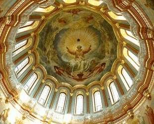 Роспись главного купола храма Христа Спасителя в Москве — Иван Крамской