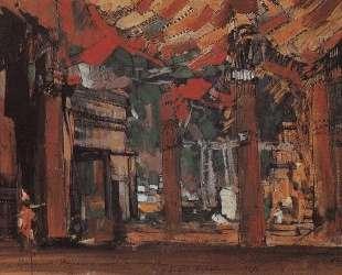 Дворец и гавань — Константин Коровин