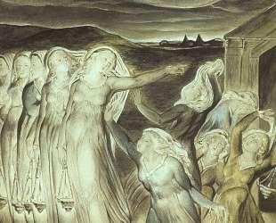 Притча о разумных и неразумных девах — Уильям Блейк