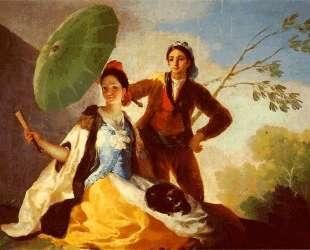 The Parasol — Франсиско де Гойя