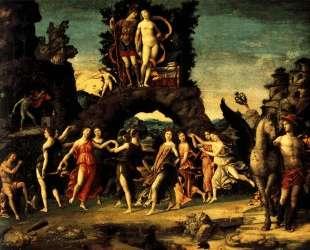 The Parnassus: Mars and Venus — Андреа Мантенья