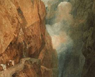 The Passage of the St. Gothard — Уильям Тёрнер