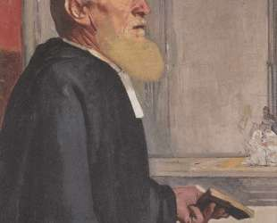 The pastor — Фердинанд Ходлер