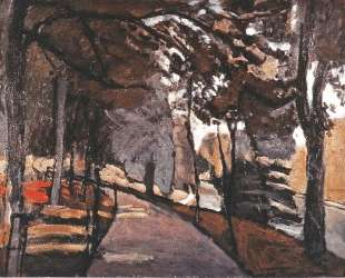 The path in the Bois de Boulogne — Анри Матисс