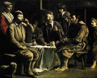 The peasant's meal — Братья Ленен