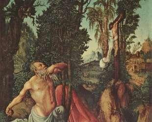Покаяние Св. Иеронима — Лукас Кранах Старший