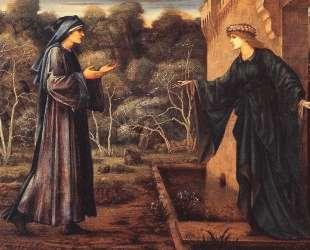 Паломник у ворот Праздности — Эдвард Бёрн-Джонс