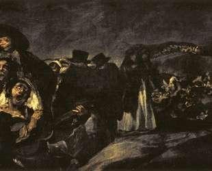 The Pilgrimage of San Isidro — Франсиско де Гойя
