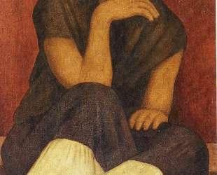 The Pinole Seller — Диего Ривера