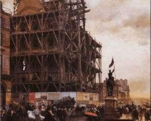 The Place des Pyramides, Paris — Джузеппе Де Ниттис