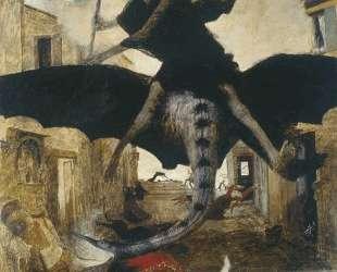 The Plague — Арнольд Бёклин
