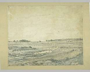 The plain of Barbizon — Теодор Руссо