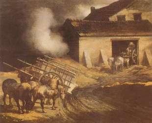 The Plaster Kiln — Теодор Жерико