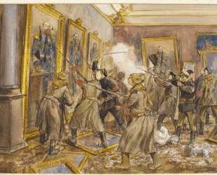 The pogrom of the Winter Palace — Иван Владимиров