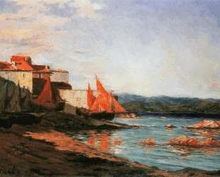 The point of the port of Saint-Tropez — Франсис Пикабиа