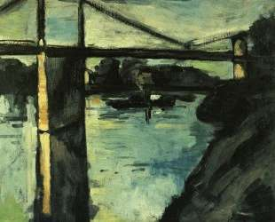 The Pont de Chatou — Морис де Вламинк