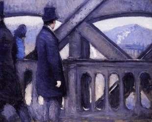 The Pont de Europe (study) — Гюстав Кайботт