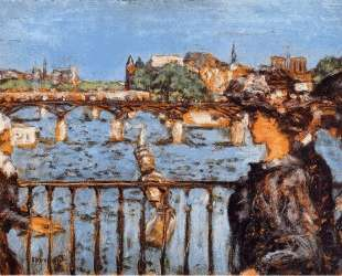 The Pont des Arts — Пьер Боннар