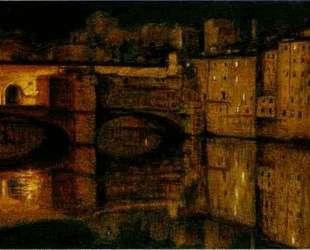 The Ponte Vecchio, Florence — Уильям Холман Хант