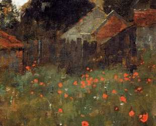 The Poppy Field — Уиллард Меткалф