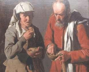 The Porridge Eaters — Жорж де Латур