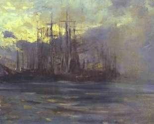 Порт в Марселе — Константин Коровин