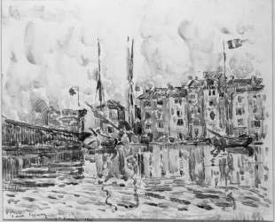 The Port of St. Tropez — Поль Синьяк