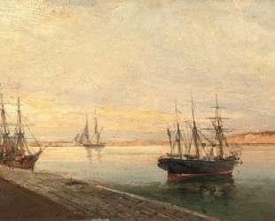 The port of Volos — Константинос Воланакис