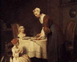 The Prayer before Meal — Жан Батист Симеон Шарден
