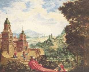 Нищета взгромоздилась на шлейф Чванства — Альбрехт Альтдорфер