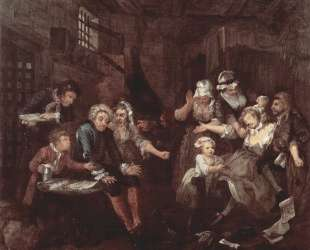 The prison — Уильям Хогарт