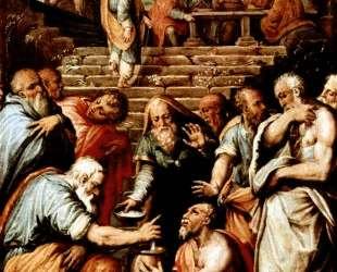 The Prophet Elisha cleansing Naaman — Джорджо Вазари