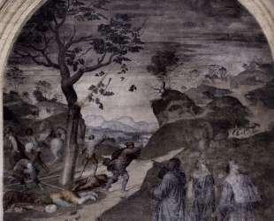 The Punishment of the Sinners — Андреа дель Сарто