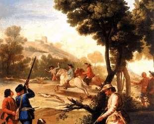 The Quail Shoot — Франсиско де Гойя