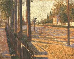 The Railway at Bois Colombes — Поль Синьяк