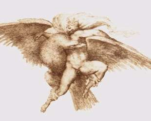The Rape of Ganymede — Микеланджело
