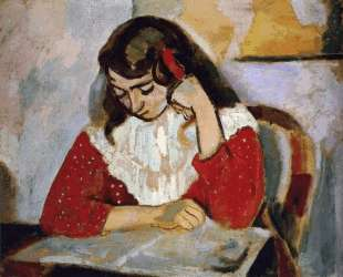 The Reader, Marguerite Matisse — Анри Матисс