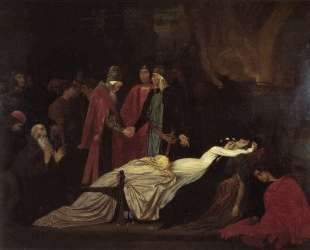 The Reconciliation of the Montagues and Capulets — Фредерик Лейтон
