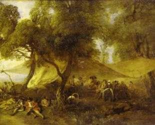The Recreations of War — Антуан Ватто