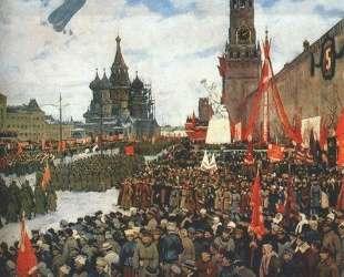 The Red Army parade — Константин Юон