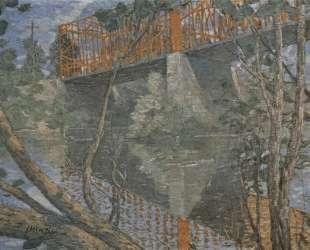 The red bridge — Джулиан Олден Вейр
