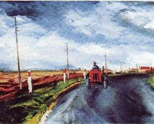 The Red Tractor — Морис де Вламинк