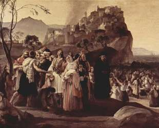 The Refugees of Parga — Франческо Хайес