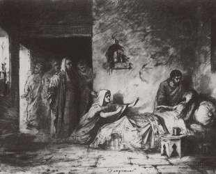 Воскрешение дочери Иаира — Василий Поленов
