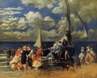The Return of the Boating Party — Пьер Огюст Ренуар