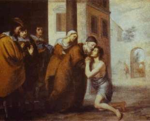 The Return of the Prodigal Son — Бартоломе Эстебан Мурильо