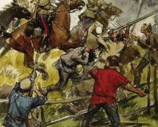 The revolt of the peasants on the estate of Prince Shahovskoy — Иван Владимиров